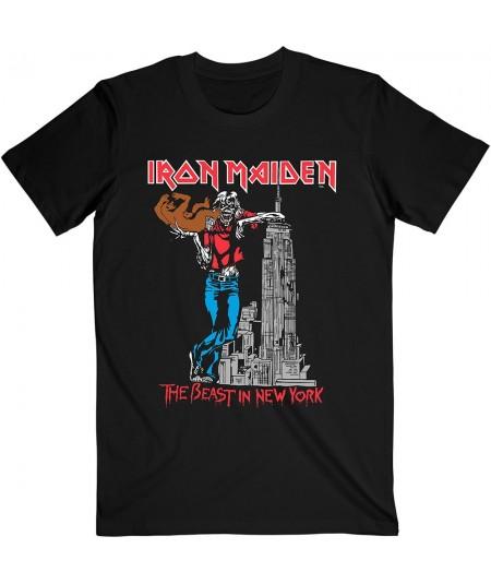 Tricou Unisex Iron Maiden: The Beast In New York