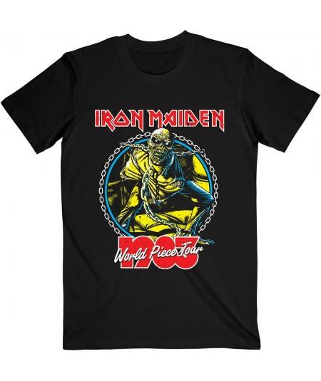 Tricou Unisex Iron Maiden: World Piece Tour '83 V.2