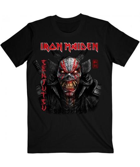 Tricou Unisex Iron Maiden: Senjutsu Black Cover