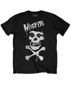 Tricou Unisex Misfits: Cross Bones