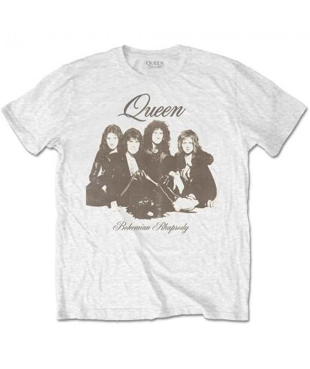 Tricou Unisex Queen: Bohemian Rhapsody Portrait