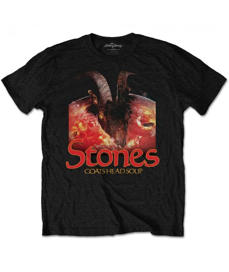 Tricou Unisex The Rolling Stones: Goats Head Soup With Logo