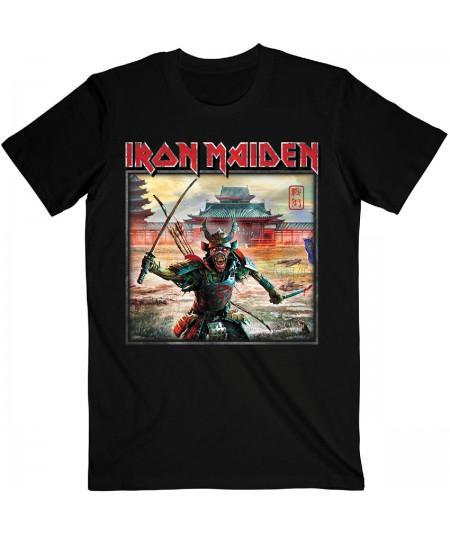 Tricou Unisex Iron Maiden: Senjutsu Album Palace Keyline Square