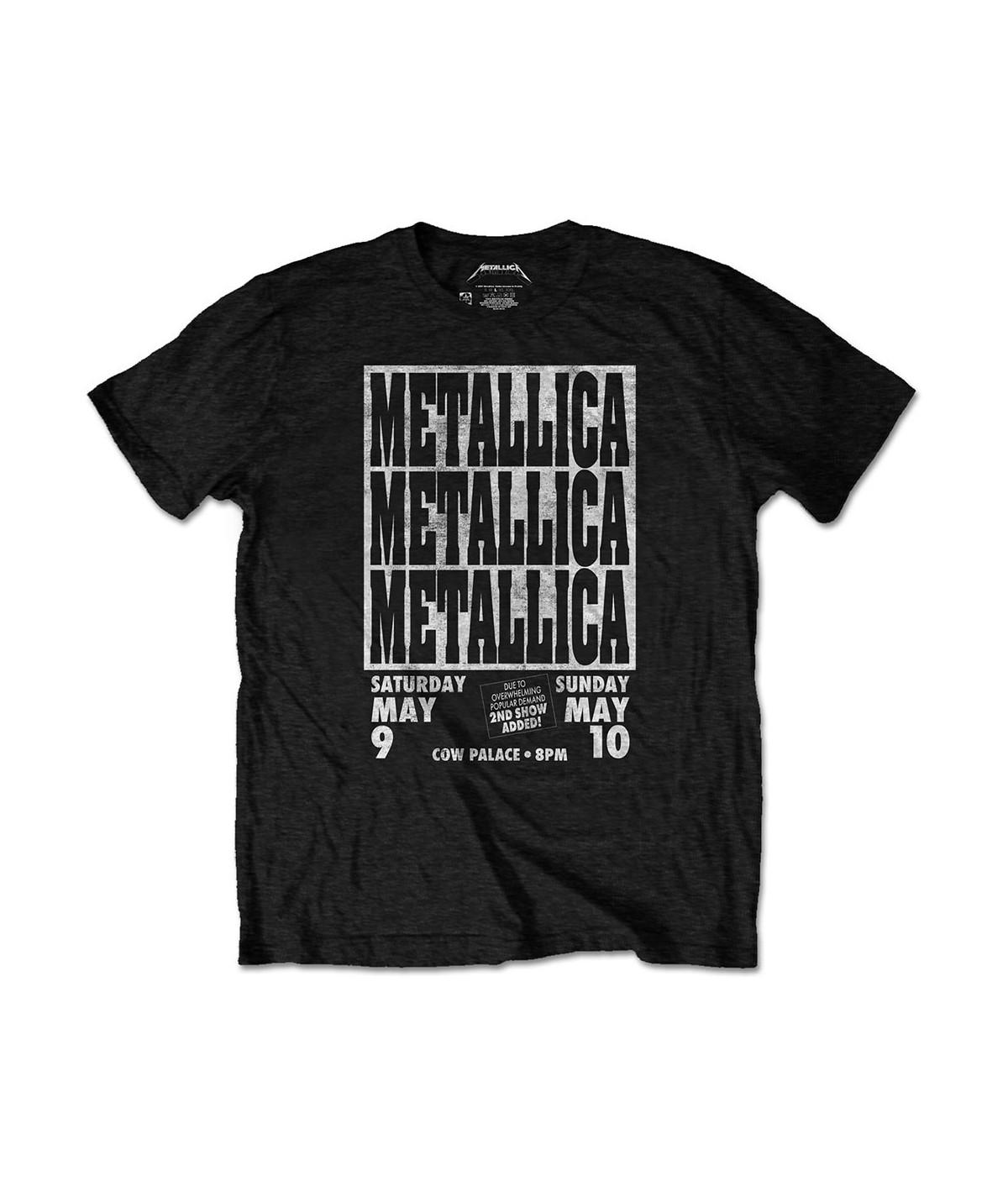 Tricou Eco Unisex Metallica: Cow Palace