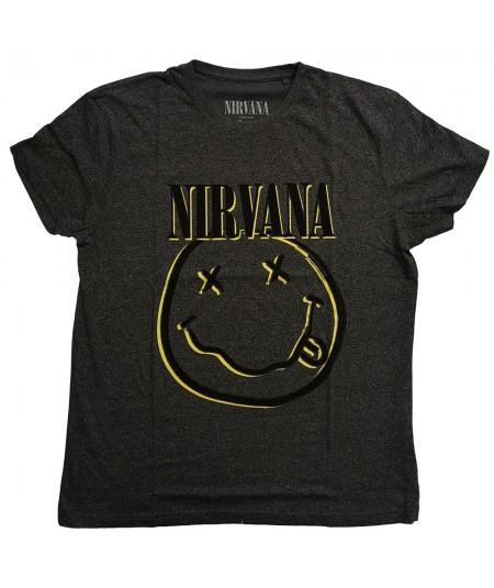 Tricou Unisex Nirvana: Inverse Smiley