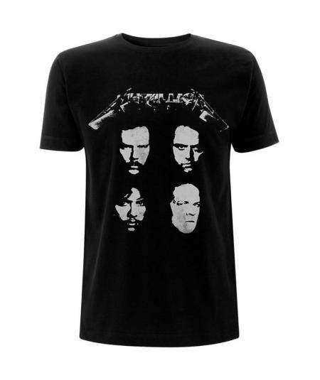 Tricou Unisex Metallica: 4 Faces