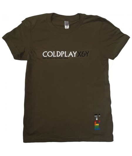 Tricou Dama Coldplay: X & Y High Up Above
