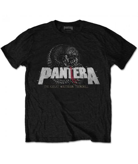 Tricou Unisex Pantera: Snake Logo