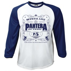 Tricou maneca 3/4 Pantera: 101 Proof