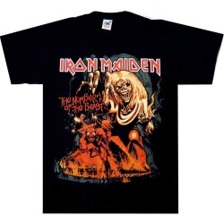 Tricou Iron Maiden: The Number Of The Beast Graphic