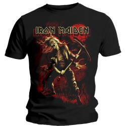 Tricou Iron Maiden: Benjamin Breeg Red Graphic
