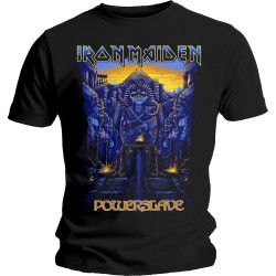 Tricou Iron Maiden: Dark Ink Powerslaves