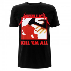 Metallica: Kill 'Em All Tracks Black (tricou)