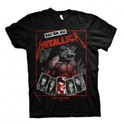 Metallica: Hell On Earth Black (tricou)