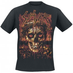 Tricou Slayer: Crowned Skull