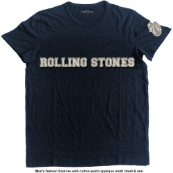 The Rolling Stones: Logo & Tongue (tricou cu patch)