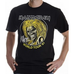 Tricou Iron Maiden: Killer World Tour 81