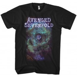 Tricou Avenged Sevenfold: Space Face