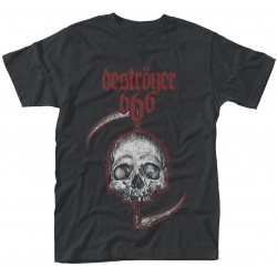 Destroyer 666: Skull (tricou)