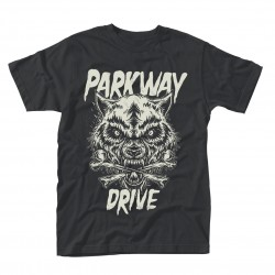 Parkway Drive: Wolf & Bones (tricou)