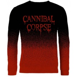Cannibal Corpse: Dripping Logo (pulover tricotat)