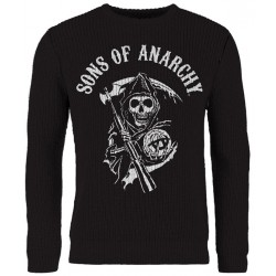 Sons Of Anarchy: Skull Reaper (pulover tricotat)
