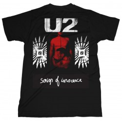 U2: Songs Of Innocence Red Shade (tricou)
