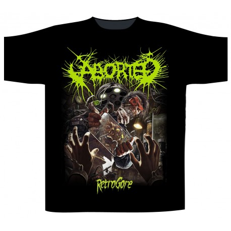 Aborted: Retrogore (tricou)