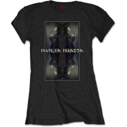 Tricou Dama Marilyn Manson: Mirrored