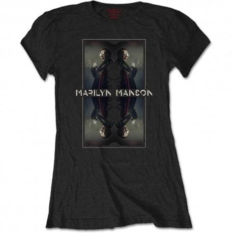 Marilyn Manson: Mirrored (tricou dama)