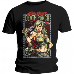 Five Finger Death Punch: Assassin (tricou)