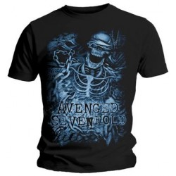 Tricou Avenged Sevenfold: Chained Skeleton