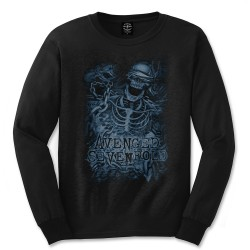 Avenged Sevenfold: Chained Skeleton (tricou maneca lunga)