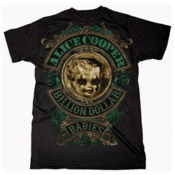 Tricou Alice Cooper: Billion Dollar Baby Crest