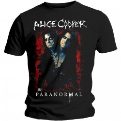Alice Cooper: Paranormal Splatter (tricou)