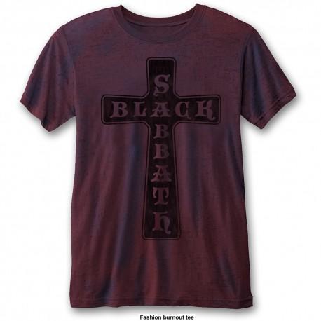 Tricou Black Sabbath: Vintage Cross