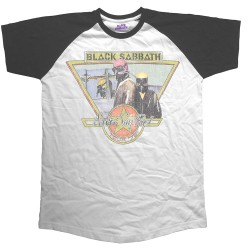 Black Sabbath: Never Say Die Tour 1978 (tricou raglan)