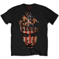 Tricou Marilyn Manson: Crown