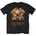 Tricou Queen: Classic Crest