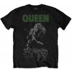 Queen: News of the World 40th Full Cover (Tricou)
