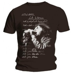 Tricou The Doors: LA Woman Lyrics