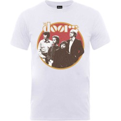 Tricou The Doors: Retro Circle