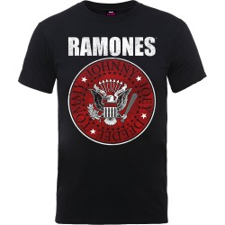 Tricou Ramones: Red Fill Seal