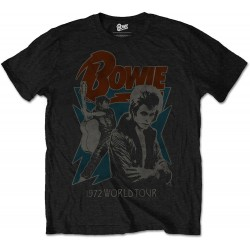 David Bowie: 1972 World Tour (tricou)