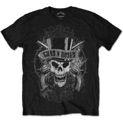 Guns N' Roses: Faded Skull (tricou)