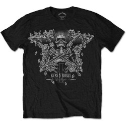 Guns N' Roses: Skeleton Guns (tricou)