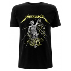 Metallica: And Justice For All Tracks (tricou)
