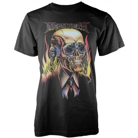 Tricou Megadeth: Flaming Vic