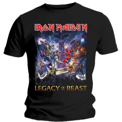Tricou Iron Maiden: Legacy Of The Beast