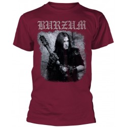 Burzum: Anthology 2018 Maroon (tricou)